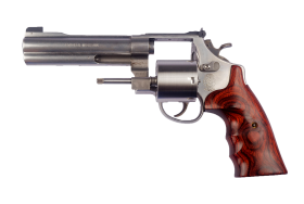 Smith and Wesson Revolver PNG