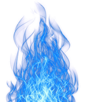 Smoke Blue Effect PNG