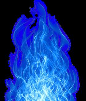 Smoke Blue Effect PNG