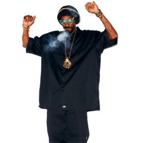 Smokeing Snoop Dogg PNG