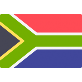 South African Flag PNG