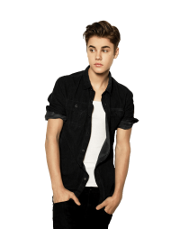Standing Justin Bieber PNG