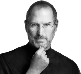 Steve Jobs Thinking PNG
