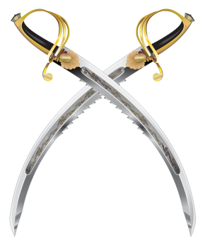 Swiss Ceremonial Swords PNG