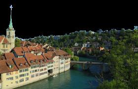 Serene landscape - Switzerland PNG
