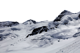 Snowy Swiss Alps PNG