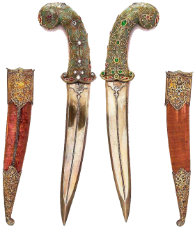 Swords and Sheaths PNG