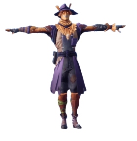 T-Pose Sun Strider Fortnite PNG