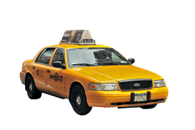 1995er Ford Crown Victoria New York Taxi PNG