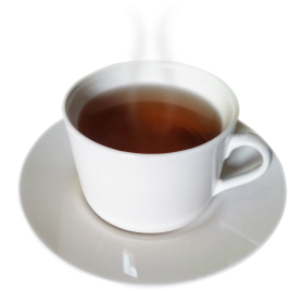 Tea in a  White Cup PNG
