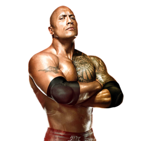 THE ROCK DWAYNE JOHNSON WWE PNG