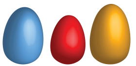 Three Eggs PNG