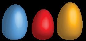 Three Eggs PNG
