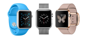 Three iwatch PNG