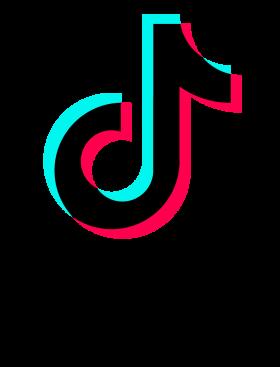 Tik Tok Logo With Font PNG