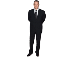 Tom Hanks Standing PNG