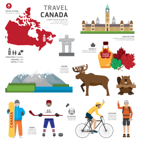 Travel Canada PNG