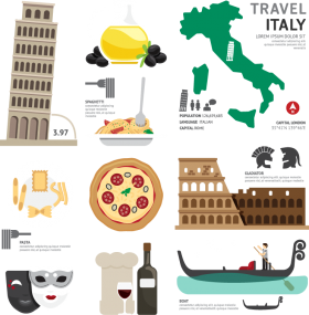 travel italy PNG