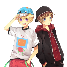 Two Anime Boys PNG