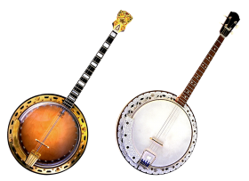 Two Banjo Instruments PNG