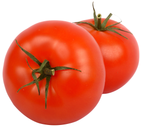 Two Red Tomatoes PNG