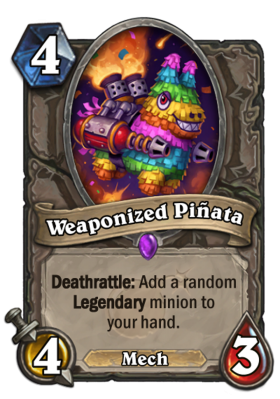 Weaponized Pinata PNG
