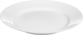 White Basic Plate PNG