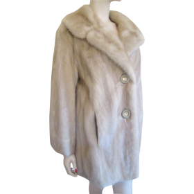 White Fur Coat PNG
