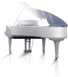 White Piano PNG