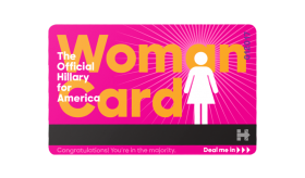 Woman Card Official PNG