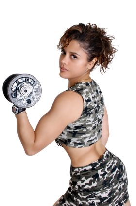 Woman exercising PNG