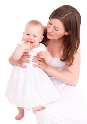 Woman with kid PNG