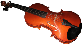 wooden Violin PNG