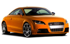 Yellow Audi Luxray Car PNG