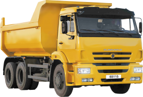 Yellow Truck PNG