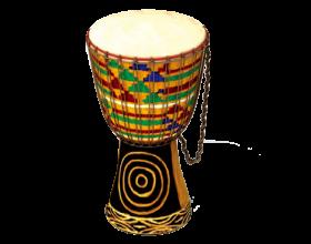 African Kente Drum