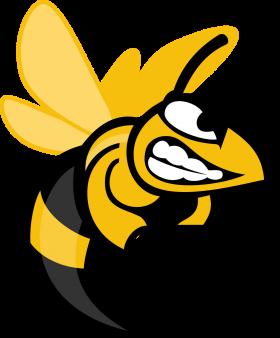 Angry Hornet Cartoon Clipart