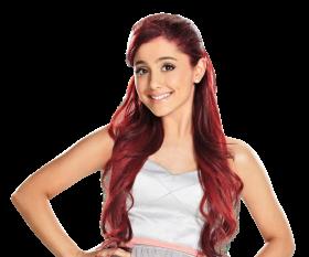 Ariana Grande Red Hairs