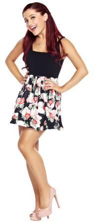 Ariana Grande Smiling Nice
