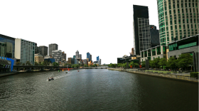 Australia – Buildings by the River