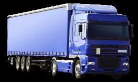 Blue Kamaz Truck