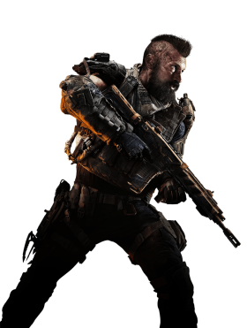Call of Duty: Black Ops 4 Center Soldier