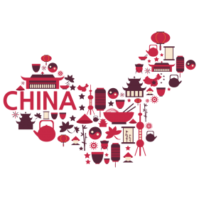 Symbols of China – China Map