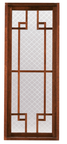 Glass and Wooden Door