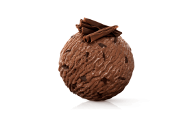 Chocolate Ice Ball PNG