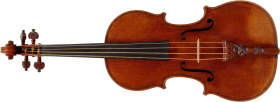 classic wooden Violin