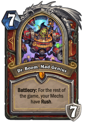 Dr Boom Mad Genius