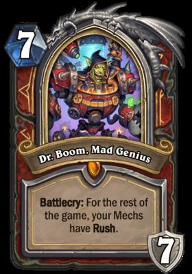 Dr Boom Mad Genius