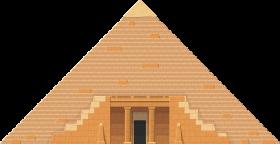 Two Dimensional Pyramid – Egypt