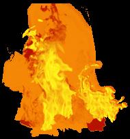 Fire Dense PNG